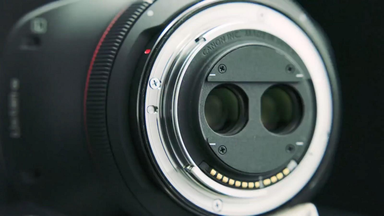 Objektiv Canon duální rybí oko 5,2 mm f/2,8. Foto 10