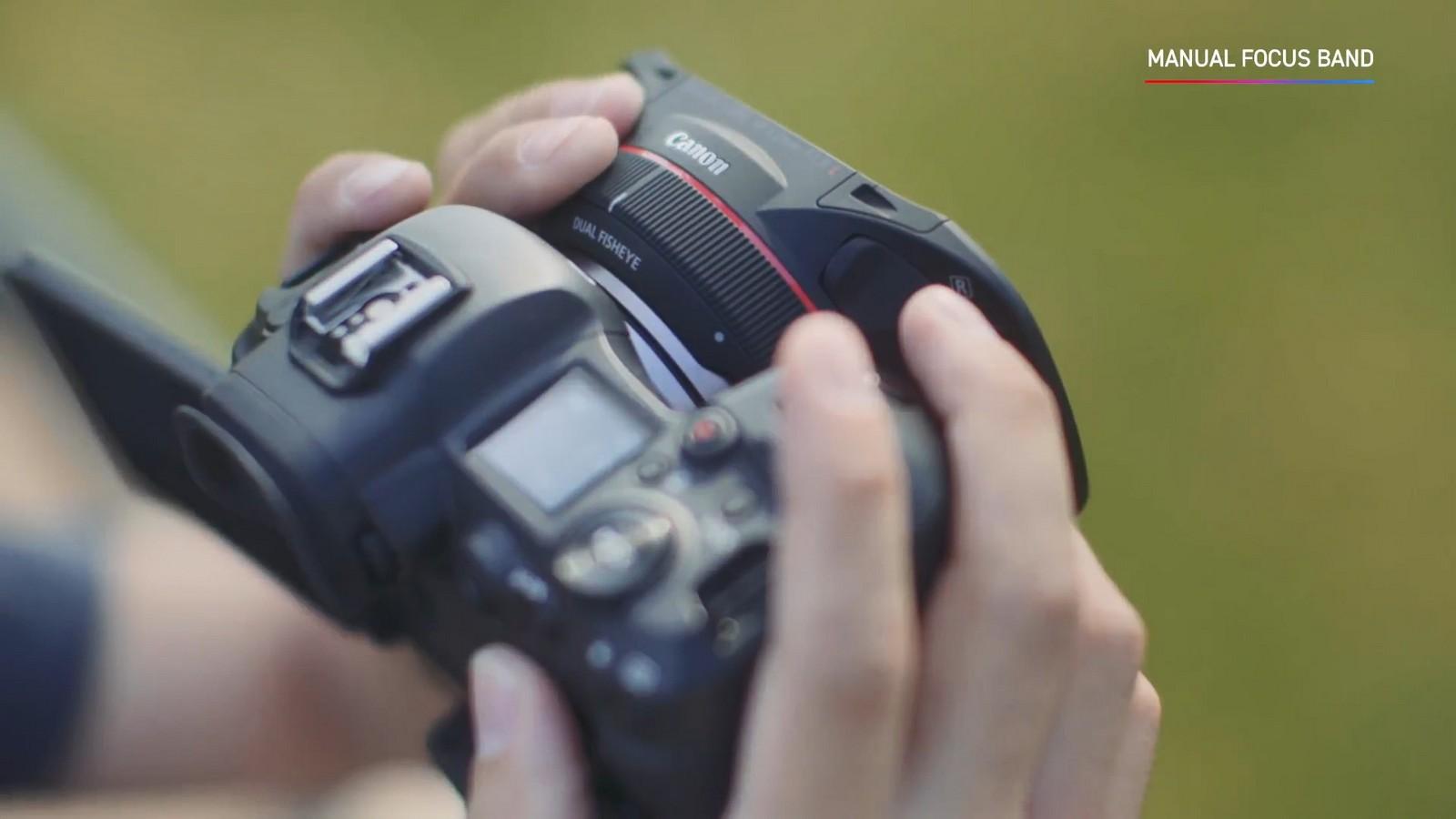 Objektiv Canon duální rybí oko 5,2 mm f/2,8. Foto 12