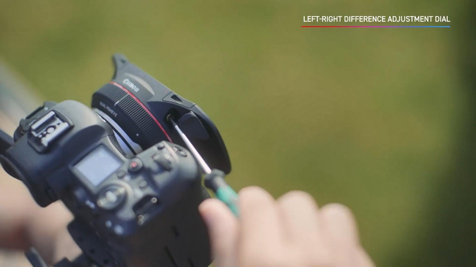 Objektiv Canon duální rybí oko 5,2 mm f/2,8. Foto 13