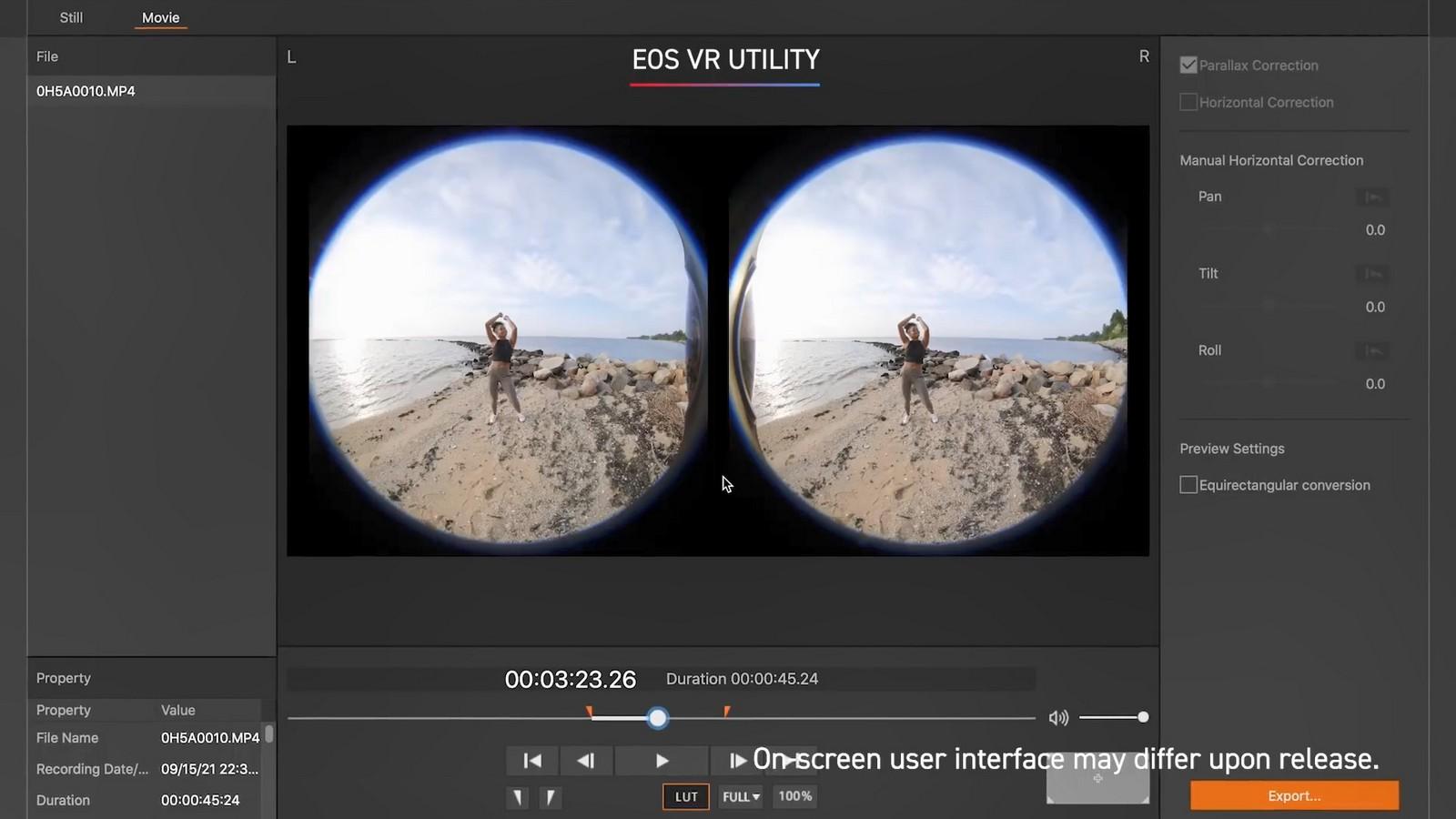 Objektiv Canon duální rybí oko 5,2 mm f/2,8. Foto 16