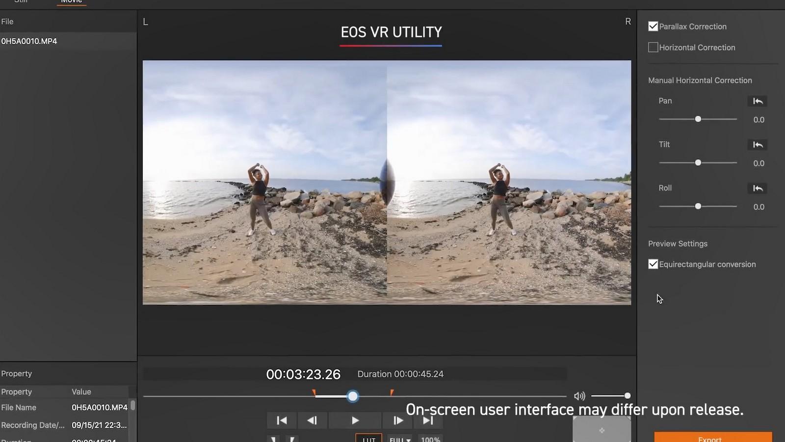 Objektiv Canon duální rybí oko 5,2 mm f/2,8. Foto 17