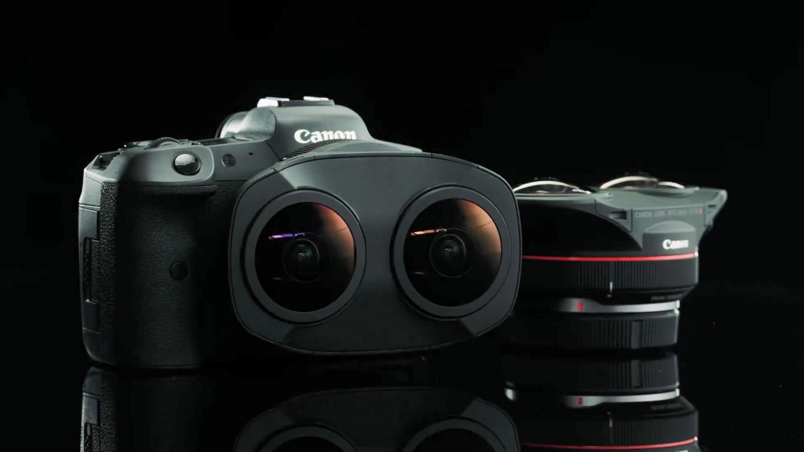 Objektiv Canon duální rybí oko 5,2 mm f/2,8. Foto 2