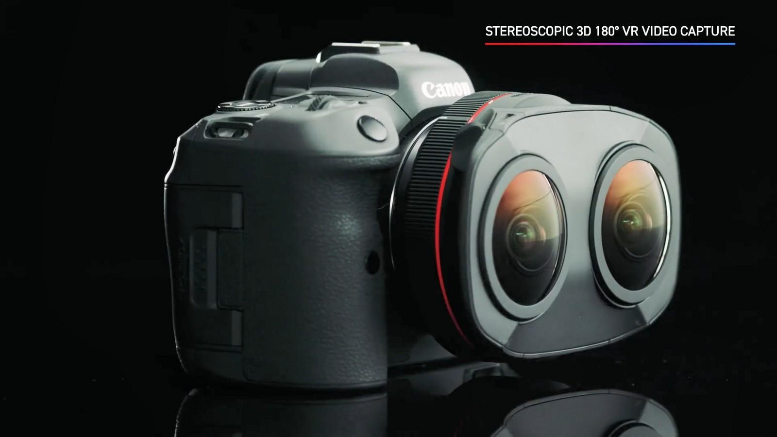 Objektiv Canon duální rybí oko 5,2 mm f/2,8. Foto 3