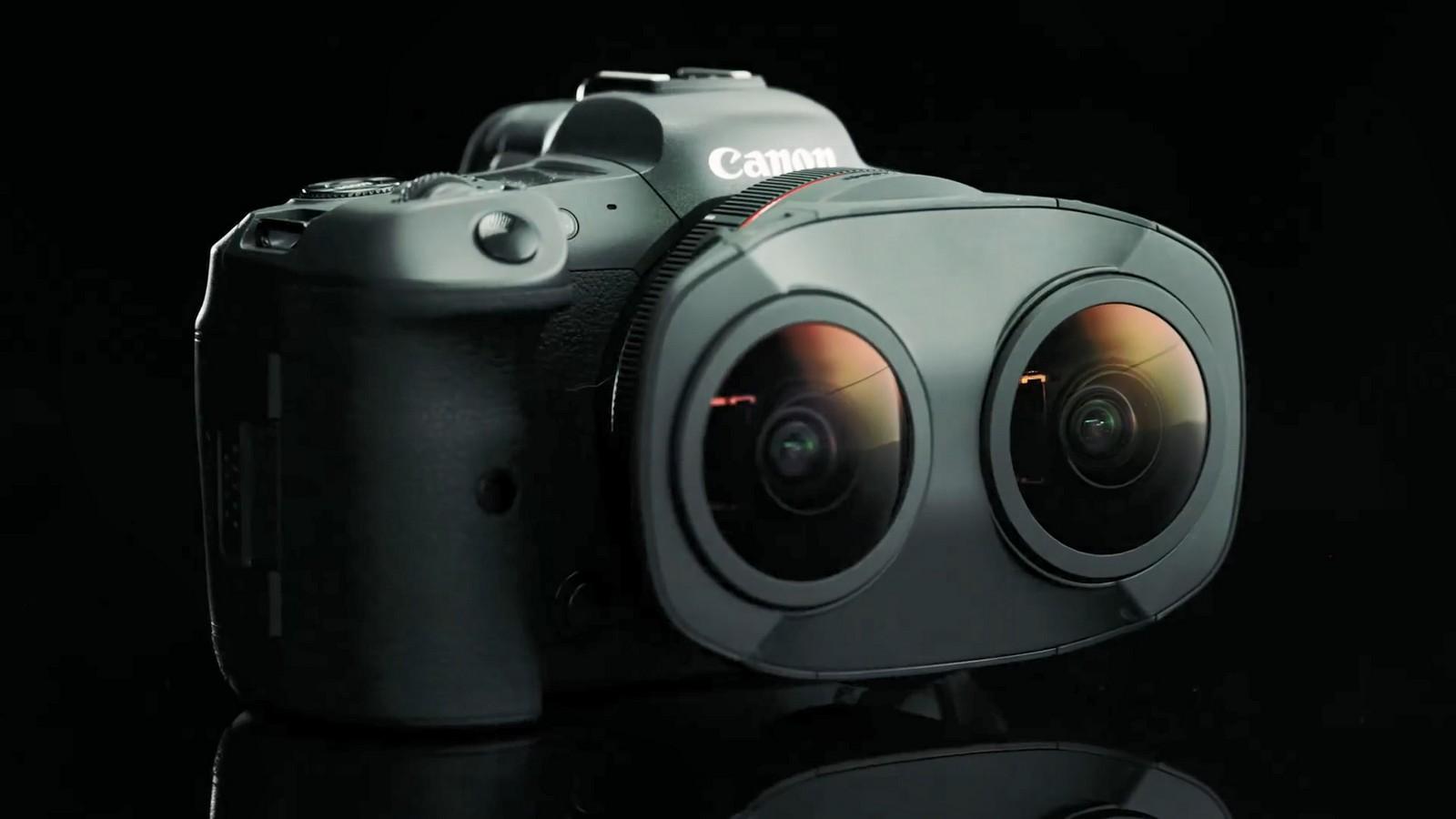 Objektiv Canon duální rybí oko 5,2 mm f/2,8. Foto 4