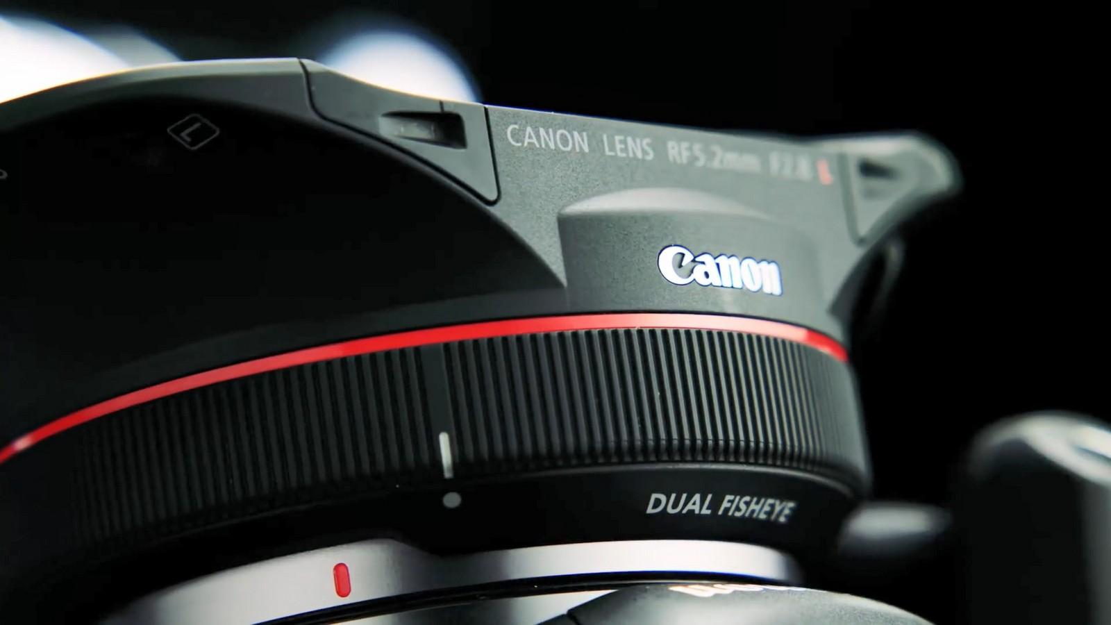 Objektiv Canon duální rybí oko 5,2 mm f/2,8. Foto 7