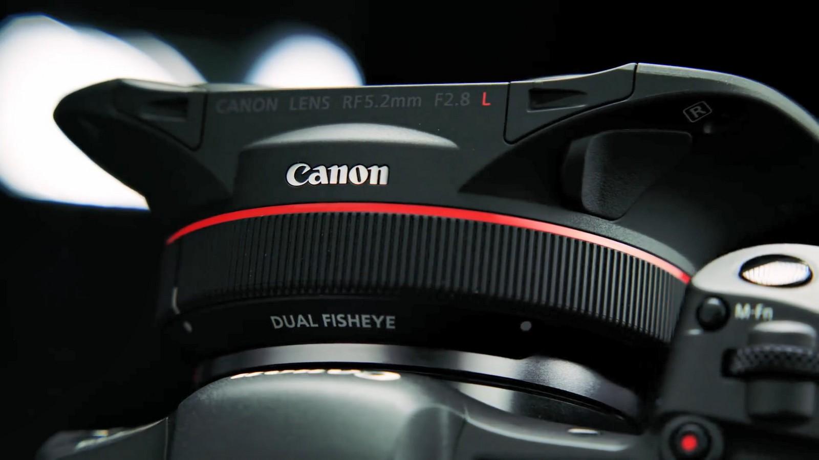 Objektiv Canon duální rybí oko 5,2 mm f/2,8. Foto 8